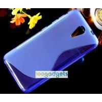 Силиконовый S чехол для HTC Desire 620 Фиолетовый
