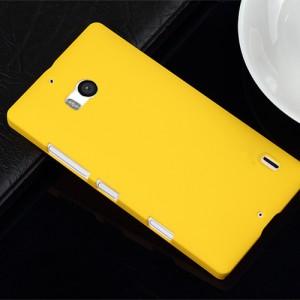 Пластиковый чехол для Nokia Lumia 930 Желтый