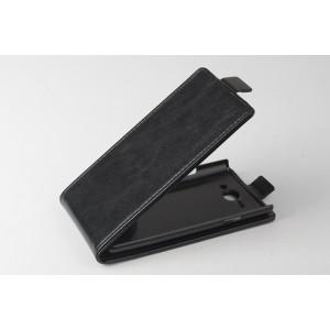 Чехол вертикальная книжка на пластиковой основе с магнитной застежкой для Philips S388