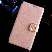 Чехол книжка LuxuryLight для LG Optimus G3 Розовый
