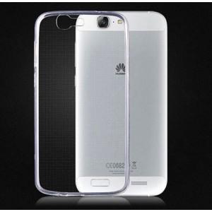 Силиконовый транспарентный чехол для Huawei Ascend G7