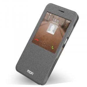 Чехол смарт флип на силиконовой основе с окном вызова для Huawei Ascend G7