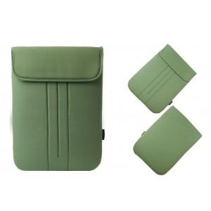 Ударостойкий водонепроницаемый эластичный неопреновый мешок на липучке для Lenovo Yoga Tablet 2 Pro 13 Зеленый