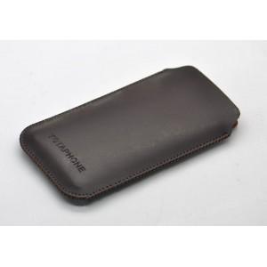 Кожаный мешок для Yotaphone 2