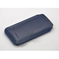 Кожаный мешок для Yotaphone 2 Синий