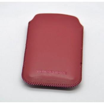 Кожаный мешок для Yotaphone 2 Красный