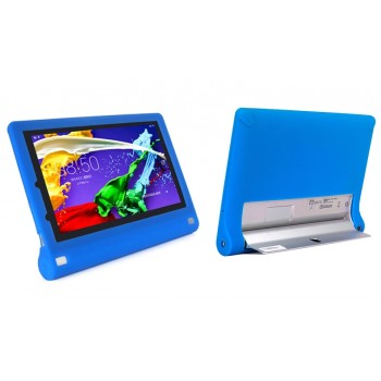 Силиконовый софт-тач премиум чехол для Lenovo Yoga Tablet 2 10