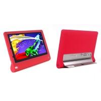 Силиконовый софт-тач премиум чехол для Lenovo Yoga Tablet 2 10 Красный
