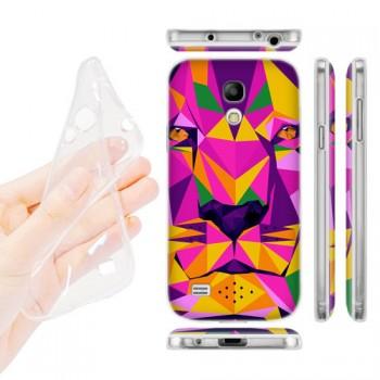 Силиконовый дизайнерский чехол с принтом для Samsung Galaxy S4 Mini