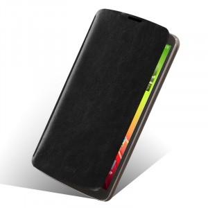 Чехол флип подставка водоотталкивающий для LG G Pro 2