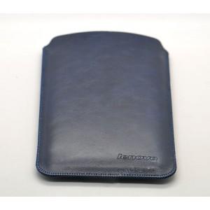 Кожаный мешок для Lenovo Tab S8 Синий