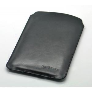 Кожаный мешок для Lenovo Tab S8 Черный