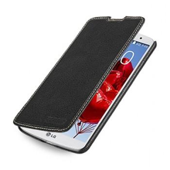 Чехол горизонтальная книжка (нат. кожа) для LG G Pro 2