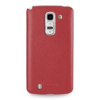 Чехол кожаная накладка BackCover для LG G Pro 2 Красный