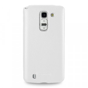 Чехол кожаная накладка BackCover для LG G Pro 2
