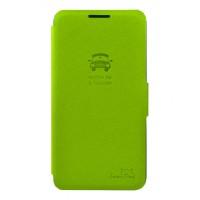 Тонкий чехол флип с отделением для LG Optimus G2 Зеленый