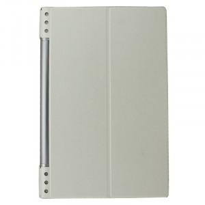 Чехол флип текстурный на поликарбонатной основе для Lenovo Yoga Tablet 2 Pro 13 Белый
