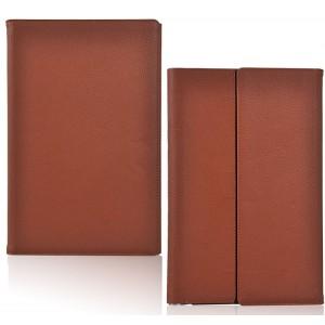 Чехол папка подставка текстурный серия AllRound Protect для Lenovo Yoga Tablet 2 Pro 13 Коричневый