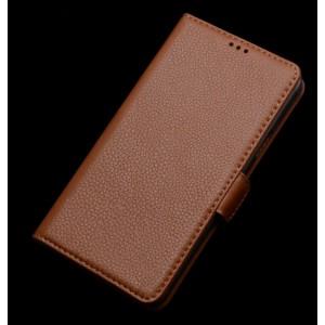 Кожаный портмоне (нат. кожа) для Samsung Galaxy E7