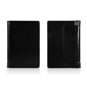 Чехол флип подставка с полной защитой корпуса и рамочной защитой экрана для Lenovo Yoga Tablet 10 HD+ Черный