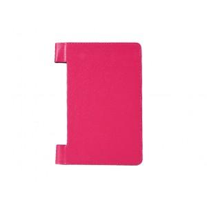 Чехол флип с рамочной защитой и отверстием для подставки для Lenovo Yoga Tablet 10 HD+ Пурпурный