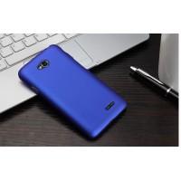 Пластиковый чехол для LG L80 Синий