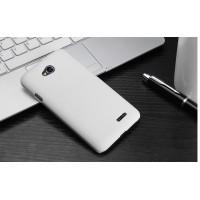 Пластиковый чехол для LG L80 Белый