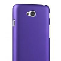 Пластиковый чехол для LG L80 Фиолетовый