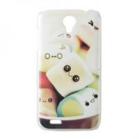 Пластиковый матовый дизайнерский чехол с принтом для Lenovo A859 Ideaphone