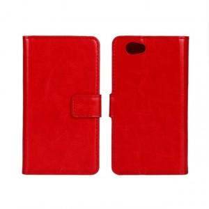 Чехол портмоне подставка с защелкой глянцевый для Sony Xperia Z1 Compact