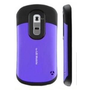 Силиконовый чехол усиленной защиты для LG Optimus G2 Фиолетовый