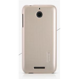 Пластиковый матовый нескользящий премиум чехол для HTC Desire 510