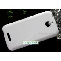 Силиконовый S чехол для HTC Desire 510 Белый