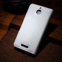 Чехол портмоне подставка с защелкой для HTC Desire 510 Белый