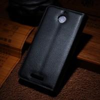 Чехол портмоне подставка с защелкой для HTC Desire 510 Черный