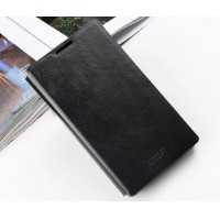 Чехол флип подставка водоотталкивающий для Microsoft Lumia 435 Черный
