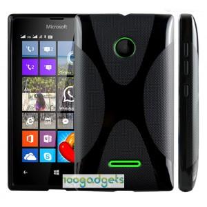 Силиконовый X чехол для Microsoft Lumia 435