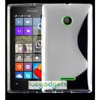 Силиконовый S чехол для Microsoft Lumia 435