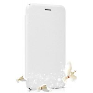 Чехол флип на пластиковой нескользящей основе серия Sparkles для ASUS Padfone S