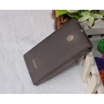 Силиконовый матовый полупрозрачный чехол для Microsoft Lumia 532