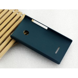 Пластиковый матовый непрозрачный чехол для Microsoft Lumia 532