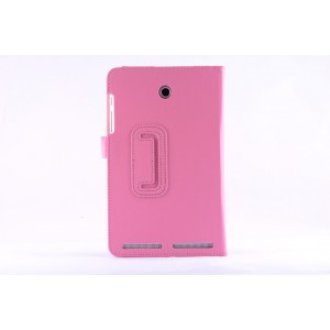 Чехол флип подставка с рамочной защитой экрана для Acer Iconia Tab 8W Розовый