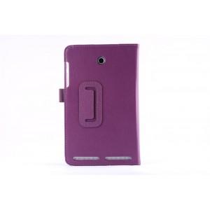 Чехол флип подставка с рамочной защитой экрана для Acer Iconia Tab 8W Фиолетовый