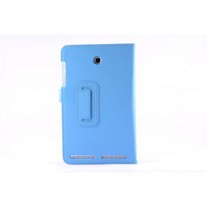 Чехол флип подставка с рамочной защитой экрана для Acer Iconia Tab 8W Голубой