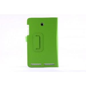 Чехол флип подставка с рамочной защитой экрана для Acer Iconia Tab 8W Зеленый