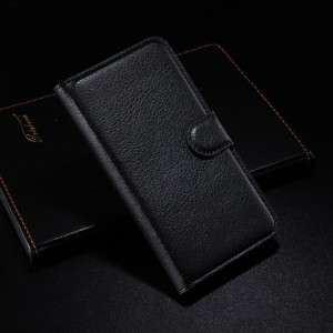 Чехол портмоне подставка с защелкой для Alcatel One Touch Idol 2 Черный