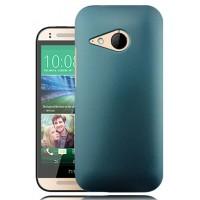Пластиковый чехол серия Metallic для HTC One mini 2 Зеленый