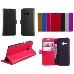 Чехол кошелек с подставкой для HTC One mini 2