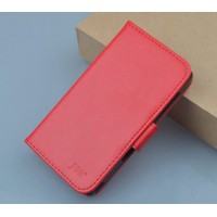 Чехол портмоне подставка с защелкой для Explay Vega Красный