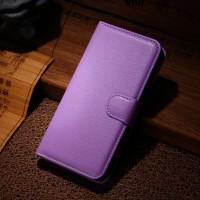Чехол портмоне подставка с защелкой для Explay 4Game Фиолетовый